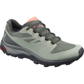 Salomon Outline GTX Shoes Women shadow/urban chic/coral almond